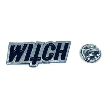 Witch Word Lapel Pin