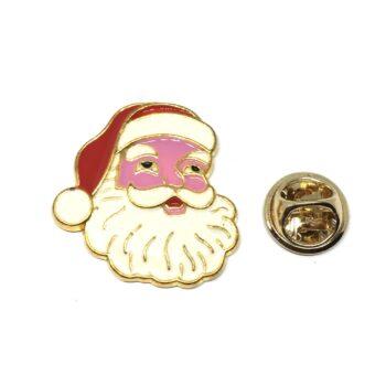 Santa Claus Christmas Lapel Pin