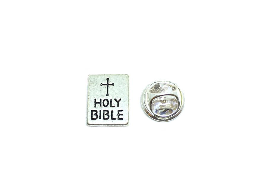 Holy Bible Religious Lapel Pin