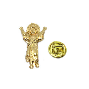 Saint Mary Religious Lapel Pin
