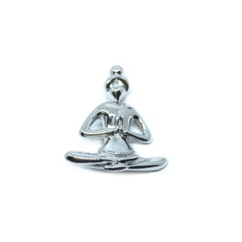 Yoga Religious Brooch Pin