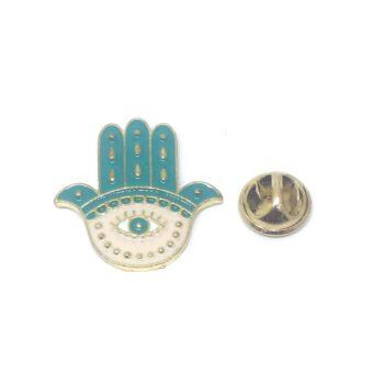 Hamsa Religious Lapel Pin