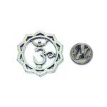 Designer Om Religious Lapel Pin