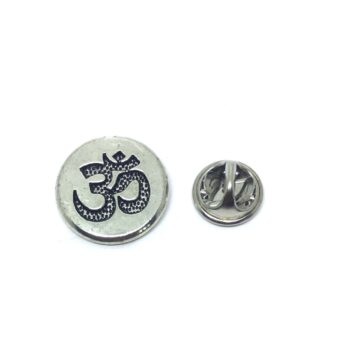 Tiny Om Religious Lapel Pin