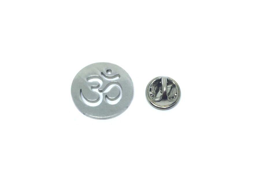 Small Om Religious Lapel Pin