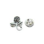 Vintage Rose Lapel Pin