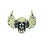 Skull Brooch Pin