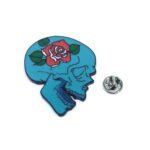 Skull Head Lapel Pin