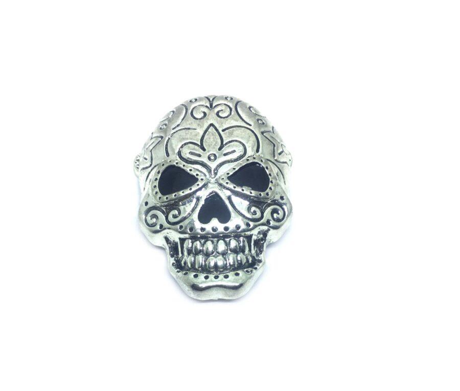Skull Head Brooch Pin