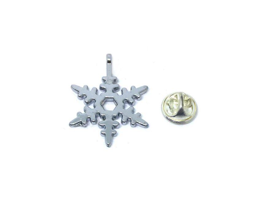 Snowflake Brooch Pin