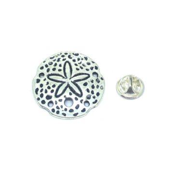 Silver plated Starfish Lapel Pin