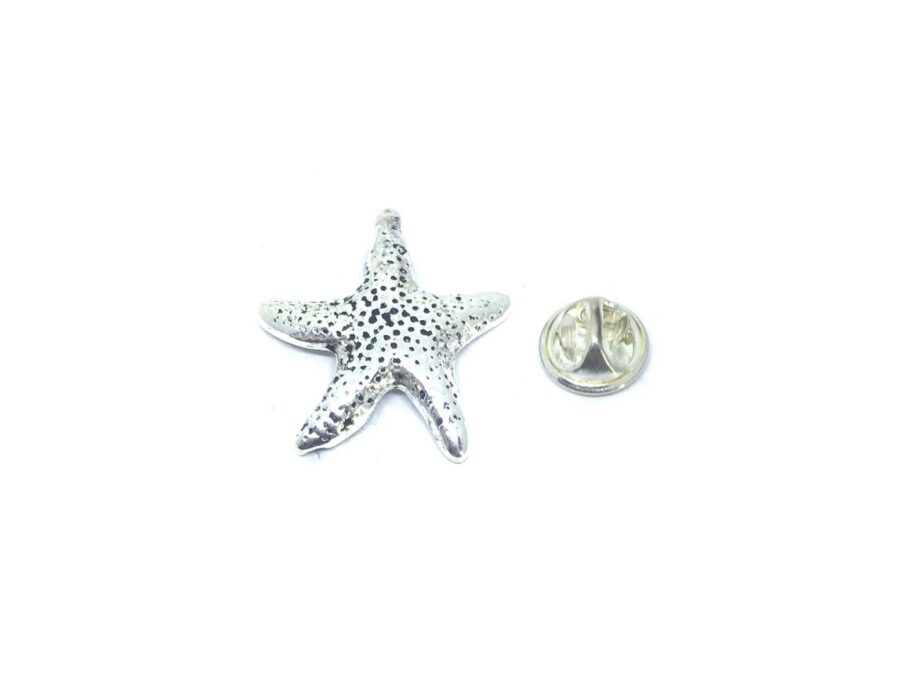 Antique Starfish Lapel Pin