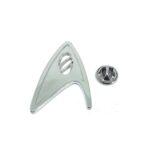 Silver tone Star Trek Lapel Pin