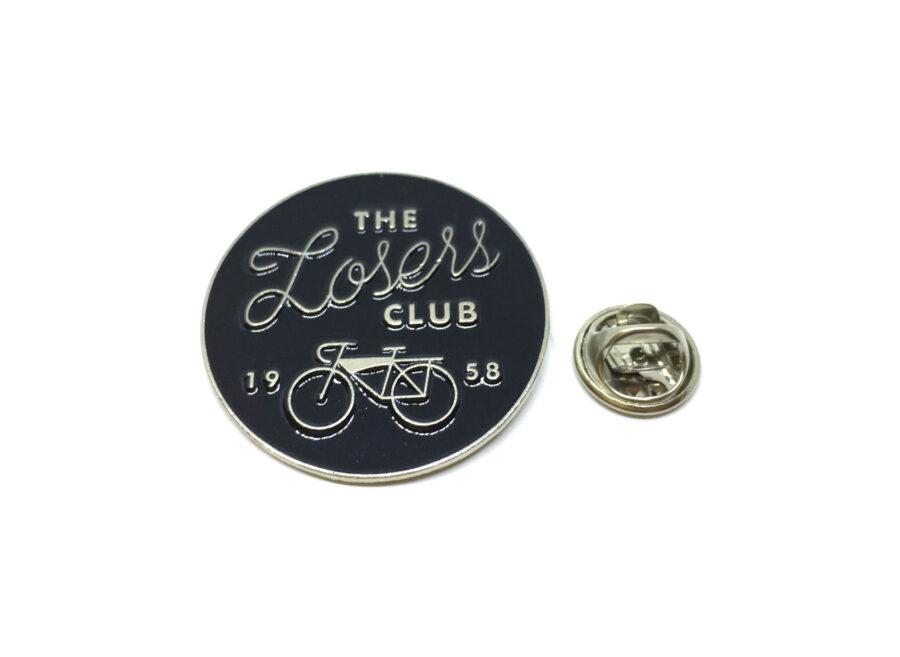 """The Losses Club"" Word Lapel Pin"