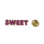 """SWEET"" Word Lapel Pin"