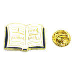"""""""I Read Banned Books"""" Word Lapel Pin"""