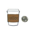 """""""Coffee"""" Word Lapel Pin"""