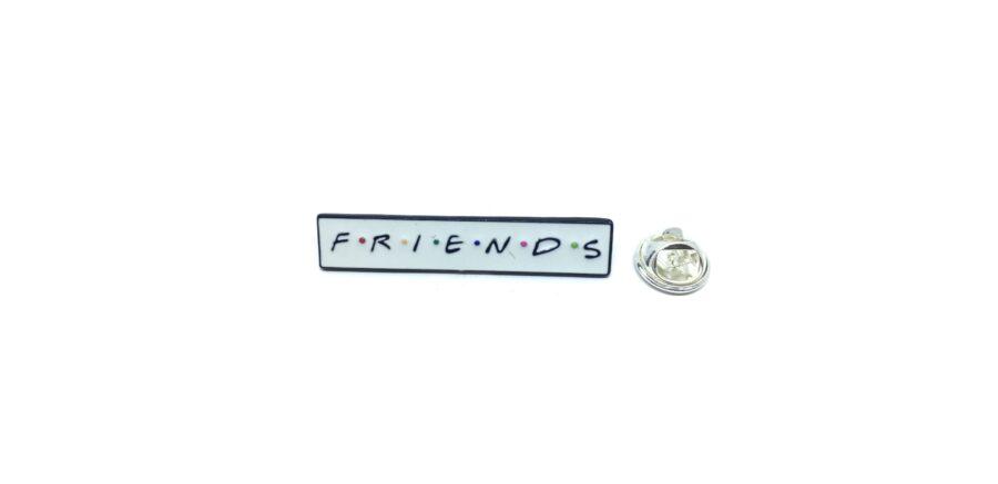 """FRIENDS"" Word Lapel Pin"