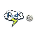 """""""Rock"""" Word Lapel Pin"""