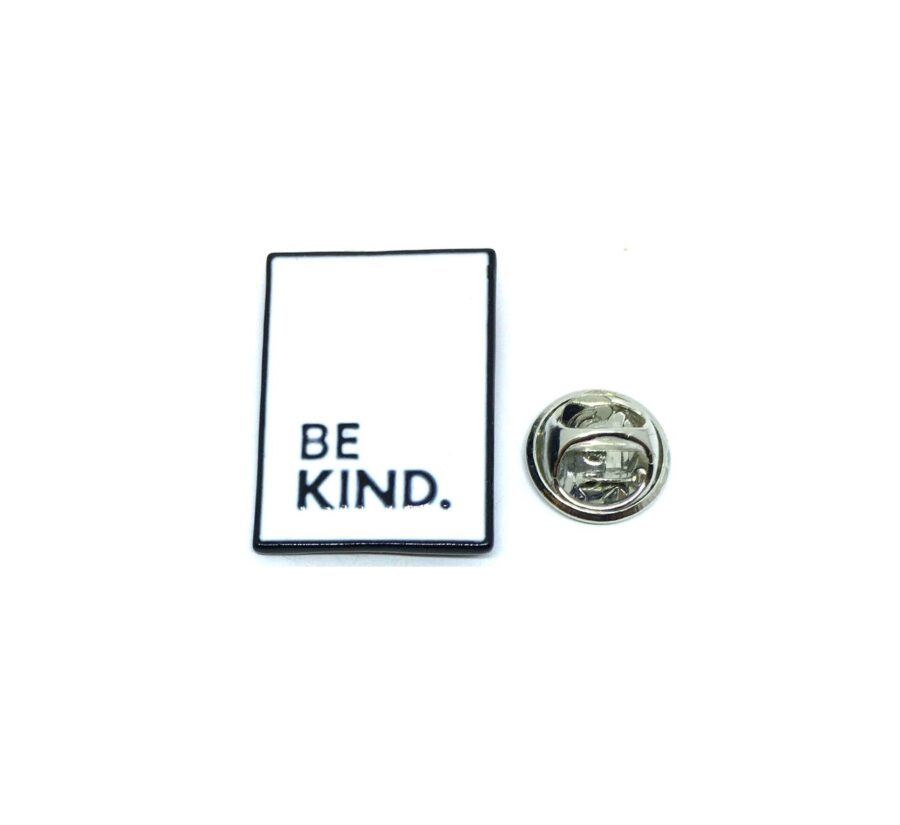 """""""BE KIND"""" Word Lapel Pin"""
