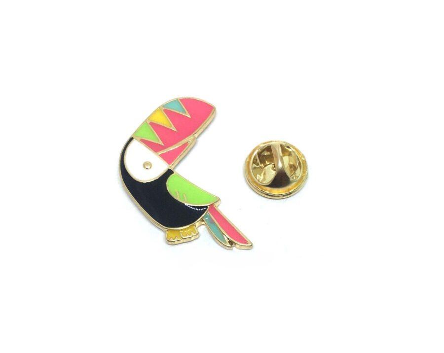 Toco Toucan Bird Lapel Pin