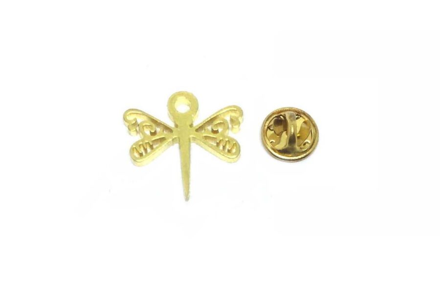 Gold plated Dragonfly Lapel Pin