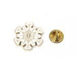 Snowflake Lapel Pins