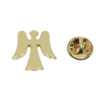 Gold Plated Small Angel Lapel Pin