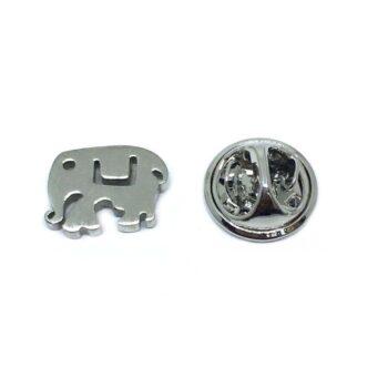 Small Elephant Lapel Pin
